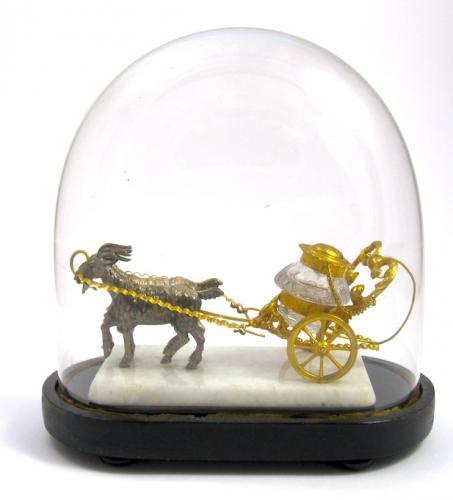 Palais Royal Inkwell Goat Cart