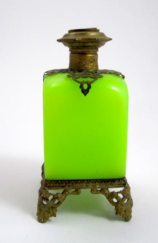 Large Palais Royal Opaline Scent Bottle