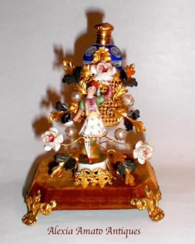 A French 19th Century Porcelain Figure Scent