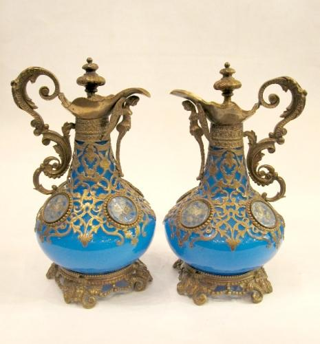 Pair of French Scent Bottles