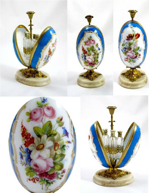 Antique Baccarat Opaline Glass Scent Casket