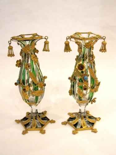 Pair of Palais Royal Vases