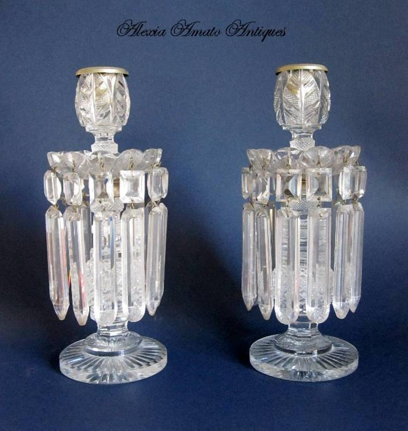 High Quality BACCARAT Cut Crystal Lustres