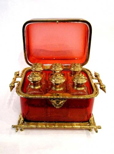 Antique French Scent Casket
