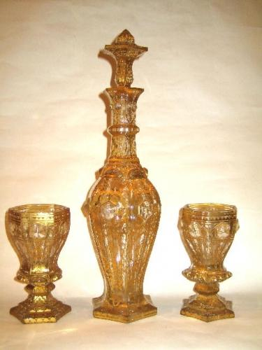 A High Quality Antique Bohemian Decanter Set