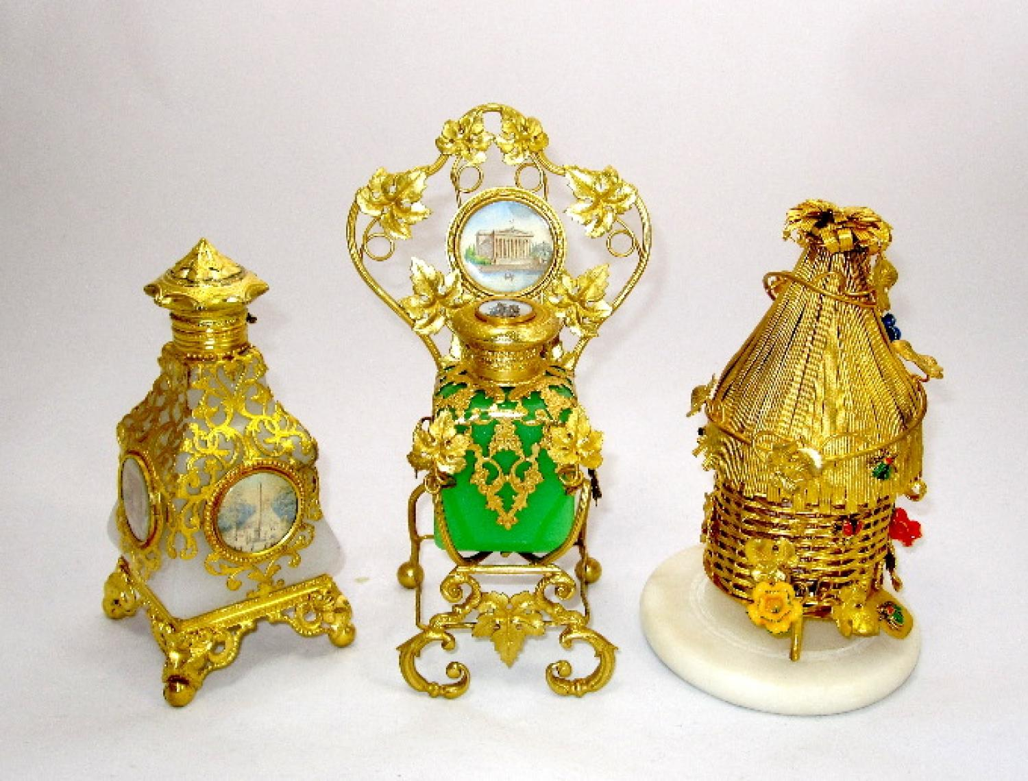 Collection of Palais Royal Perfume Bottles