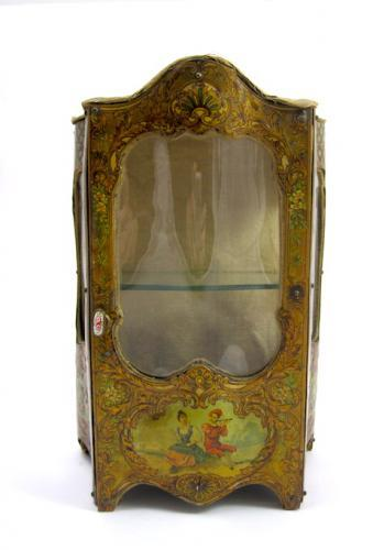 Large Antique French Miniature Cabinet