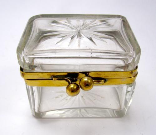 Miniature Antique French Casket Box