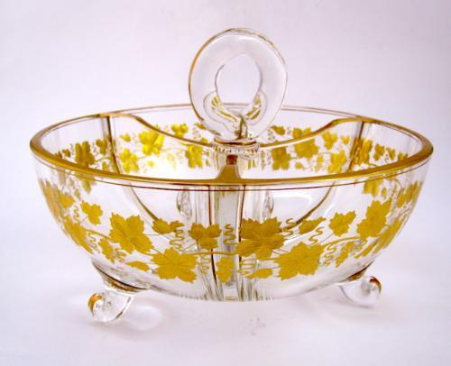Antique French Gilded Bowl