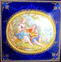 Antique High Quality French Enamelled Casket - picture 5