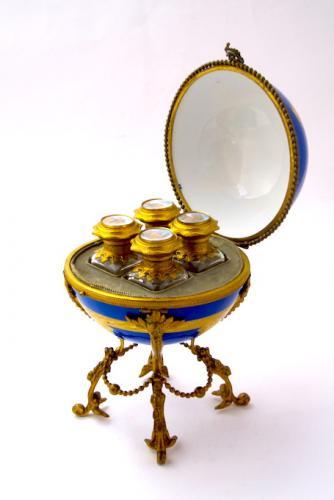 Antique French Perfume Casket Box