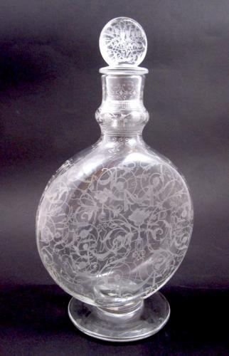 Antique BACCARAT Glass Perfume Bottle