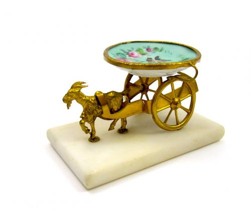 Antique French Goat Cart