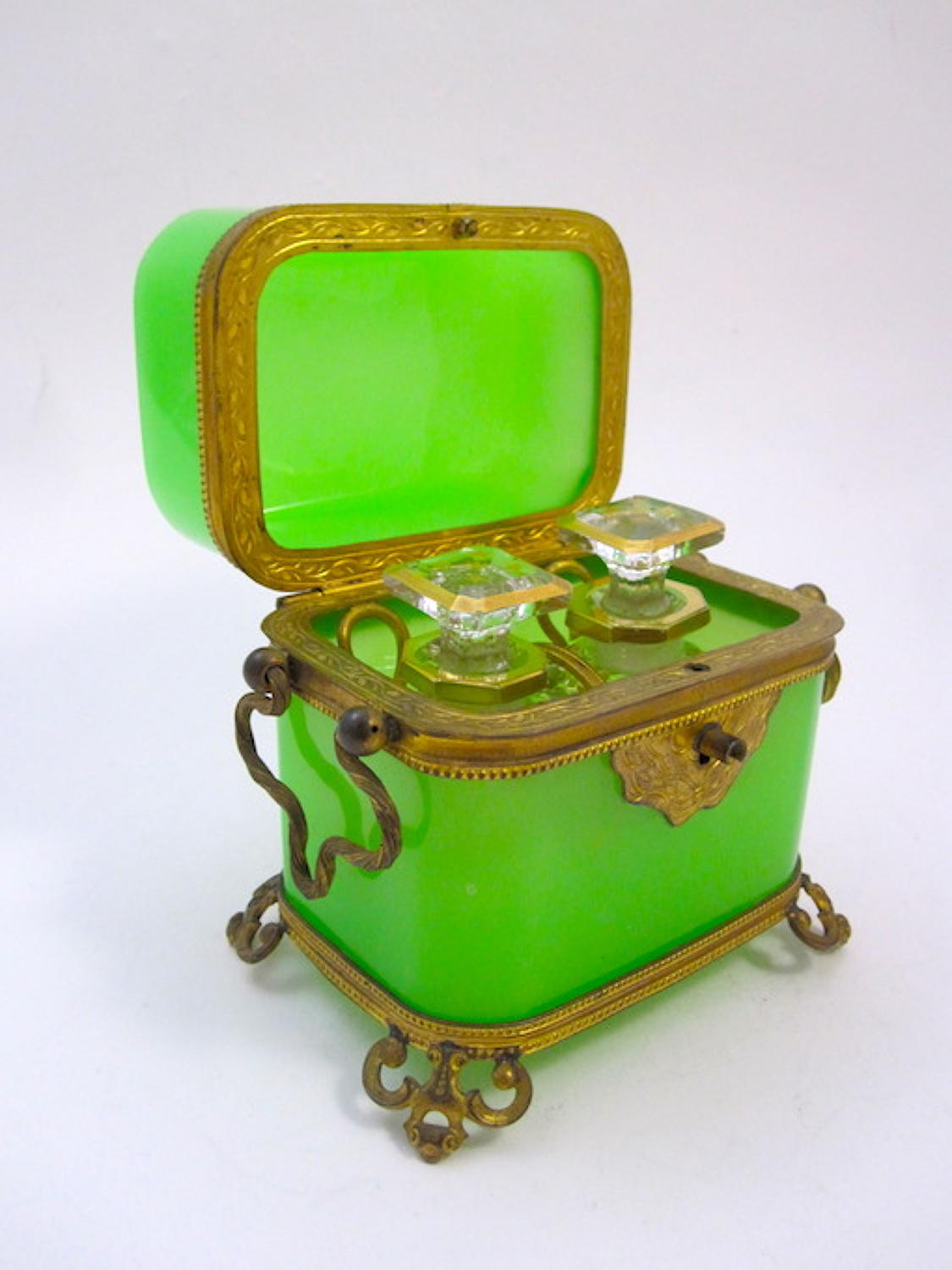 Antique Baccarat Perfume Casket Box