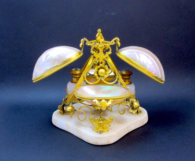 HUGE Antique Palais Royal Perfume Set