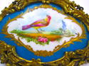 A 'Sevres' Porcelain Plaque in a Dore Bronze Frame - picture 4