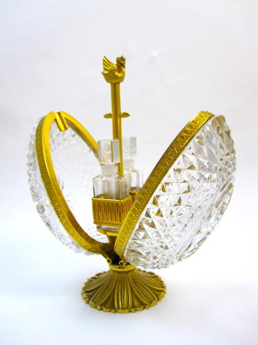 Antique Baccarat 'Pineapple' Perfume Set