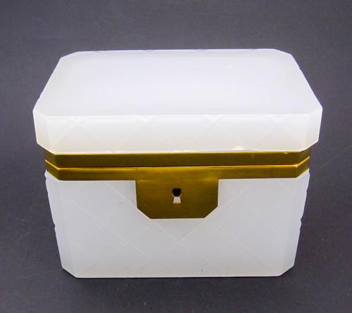 Vintage Italian Murano Glass Casket Box
