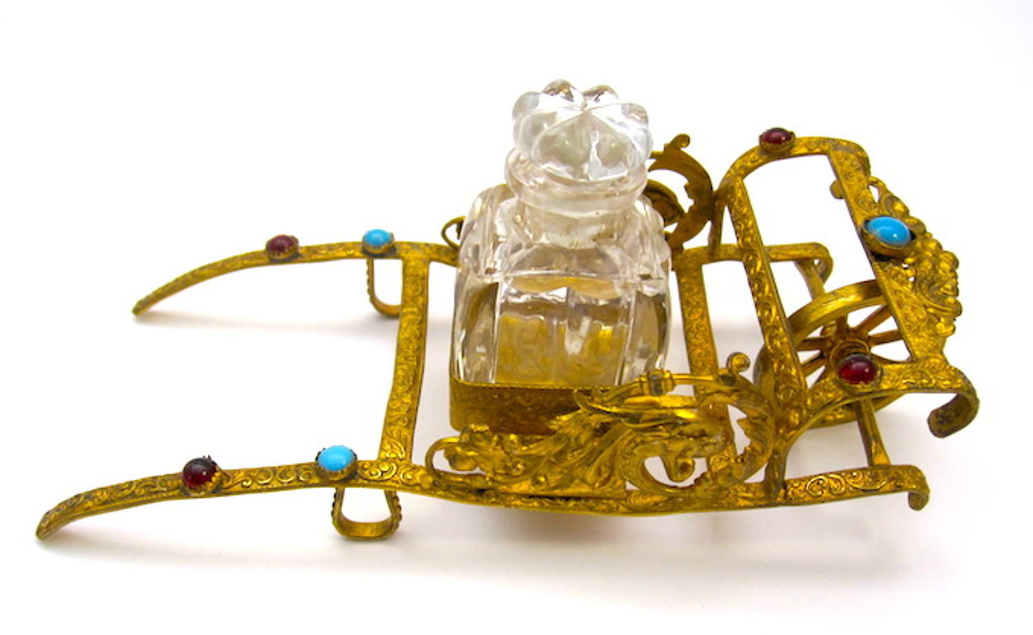Palais Royal Jewelled Cart Perfume Set