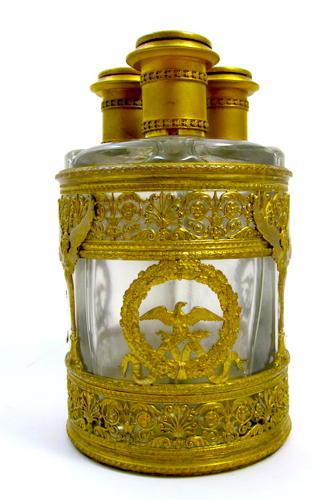 Extremely Large Napoleon III Perfume Set