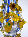 High Quality Antique French Cut Crystal Jewelled Vases - picture 4