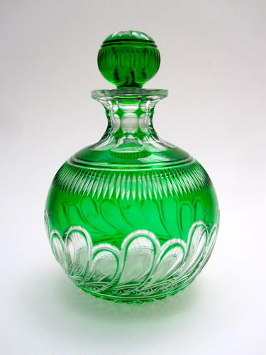 Antique Stevens and Williams Perfume Bottle
