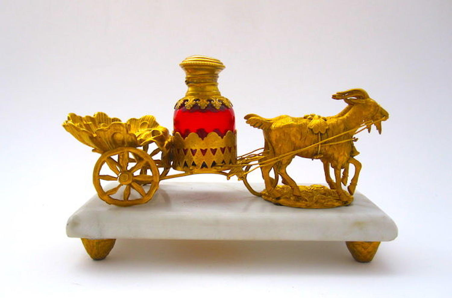 Antique Palais Royal Perfume Cart