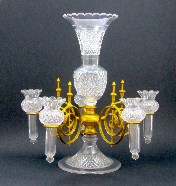 A StunningRare F&C Osler Cut Crystal Centrepiece